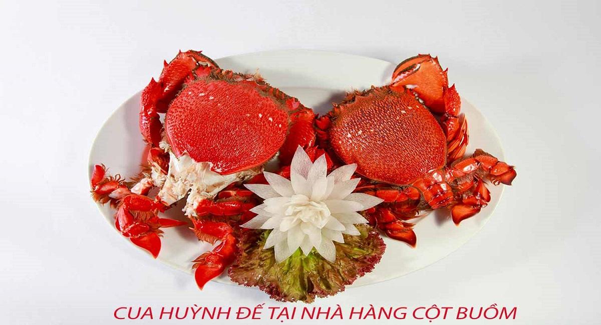 Cua Huỳnh đế nhà hàng ở đảo phú quý